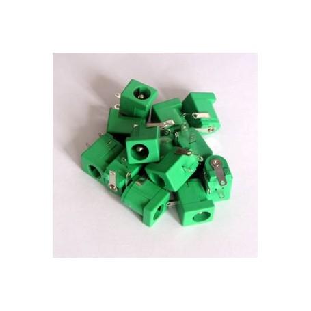جک آداپتوری مادگی سبز بسته 10 تایی