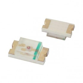 SMD LED زرد پکیج 1206 بسته 50 تایی