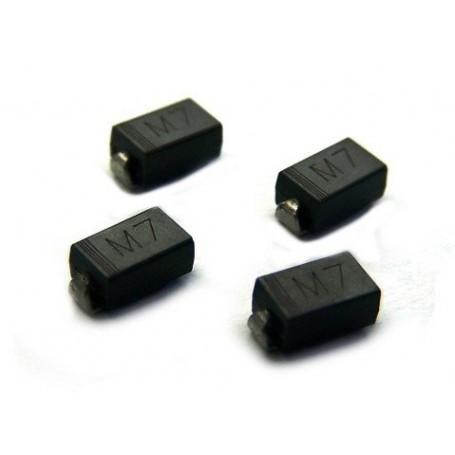 دیود 1N4007 SMD M7 بسته 20 تایی