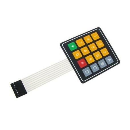 کیپد 4x4 فلت دار مدل *-0-9 A-D زرد-طوسی
