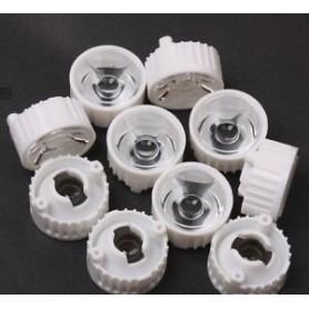 لنز LED 90^ 20mm به همراه هولدر بسته 5 تایی