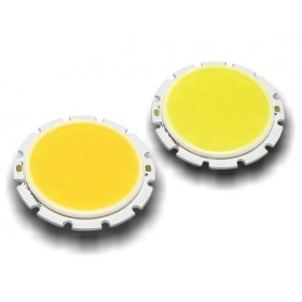 LED COB گرد 5W مهتابی بسته 5 تایی