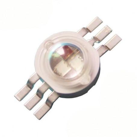 LED 3W RGB مدل 6 پایه مارک EVERLIGHT
