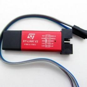 پروگرامر کوچک ST-Link V2 ویژه میکروهای STM8 و STM32