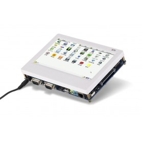 برد کاربردی صنعتی TINY6410 به همراه LCD 7 اینچ و تاچ مقاومتی