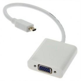 کابل مبدل MicroHDMI به VGA بدون خروجی صدا