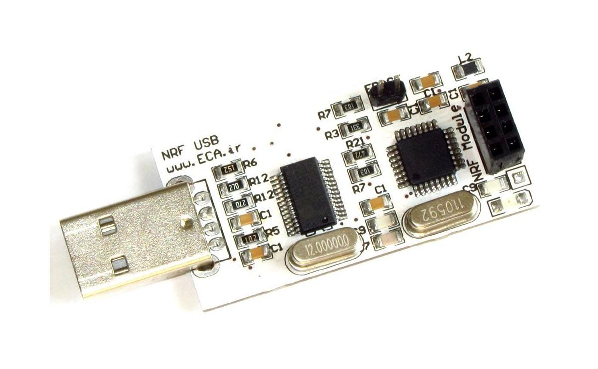 برد درایور USB ماژول های NRF24L01