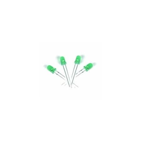LED سبز مات 5mm بسته 20 تایی