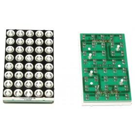 دات ماتریس 5x8 سبز 39mmx60mm