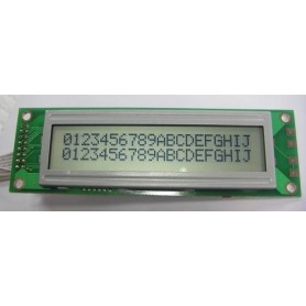 LCD کاراکتری 2x20 بدون بک لایت