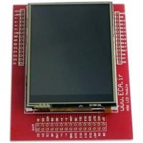 """ماژول LCD  رنگی """"2.8 به همراه تاچ اسکرین (LCD N96)"""