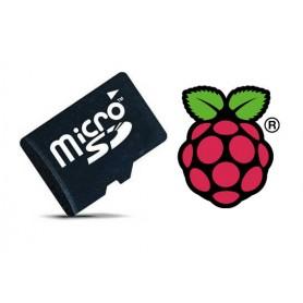 حافظه MicroSD 8Gig مخصوص برد Pi2 و Raspberry Pi3
