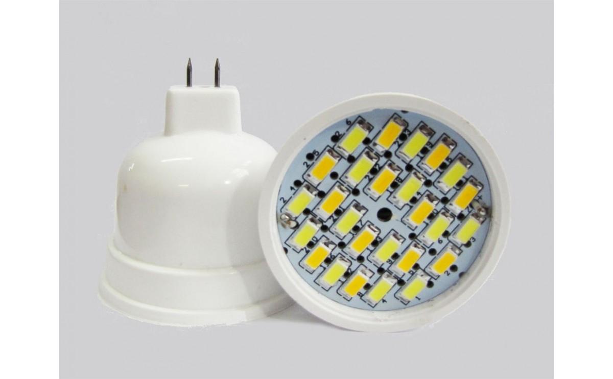 لامپ هالوژنی LED MR16-26 تمام مهتابی