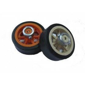 چرخ ربات 5 سانت با بوش فلزی