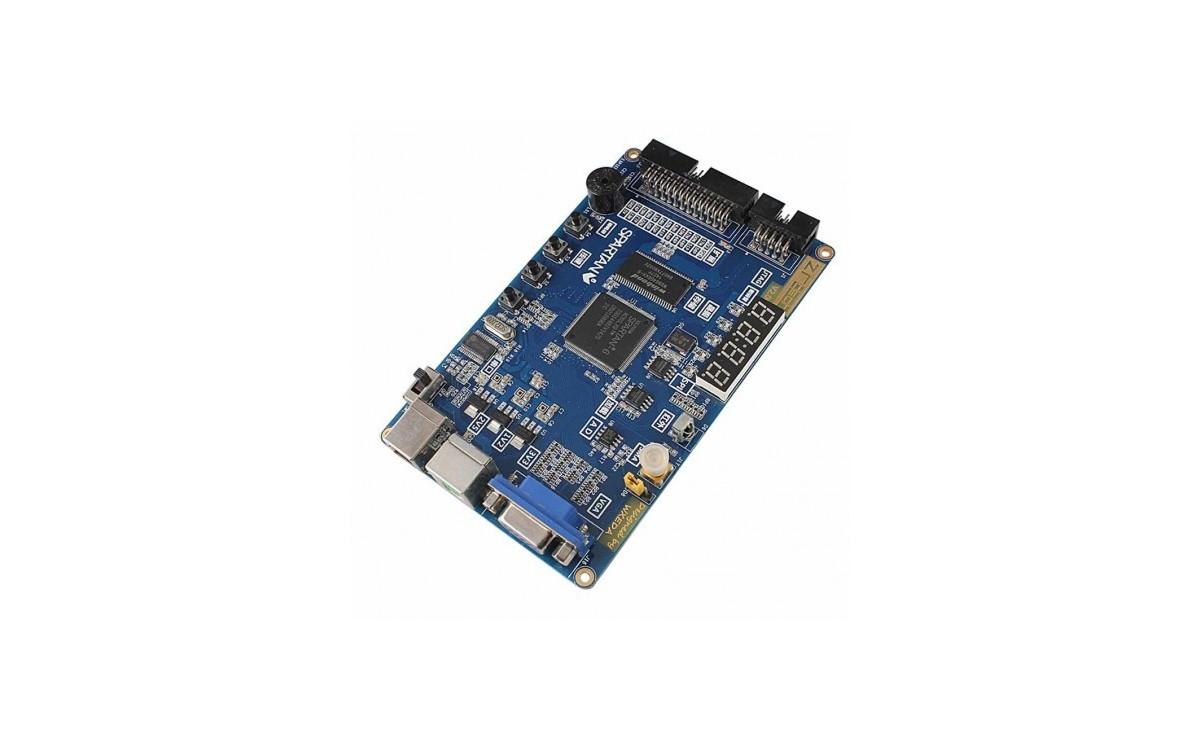 برد آموزشی اسپارتان 6 - Xilinx FPGA Spartan6 XC6SLX9 همراه با پروگرامر