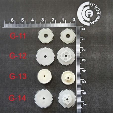 چرخ دنده مدل G-13 بسته 5 تایی