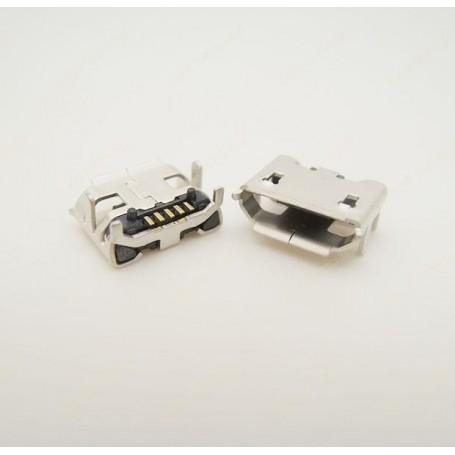 کانکتور Micro USB مادگی 5pin با هولدر 4 پایه