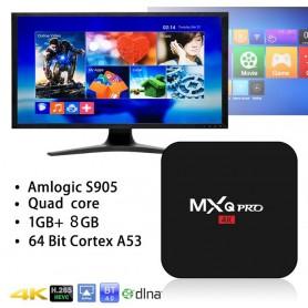 تی وی باکس MXQ Pro 4K دارای پردازنده 64 بیتی S905 - اندروید 5.1