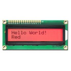 LCD کاراکتری 2x16 بک لایت قرمز