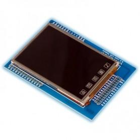 """ماژول"""" LCD 3.2 تمام رنگی به همراه تاچ اسکرین"""