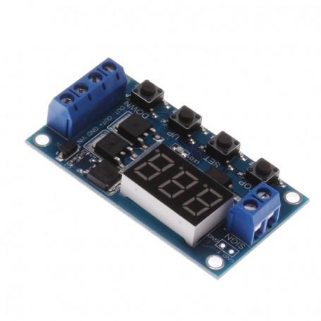ماژول تایمر قابل تظیم 12 تا 24 V با خروجی CMOS