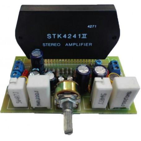 ماژول آمپلی فایر 120+120 وات با تراشه STK4241