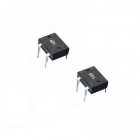 پل دیود 400V-1A مربعی DBL104