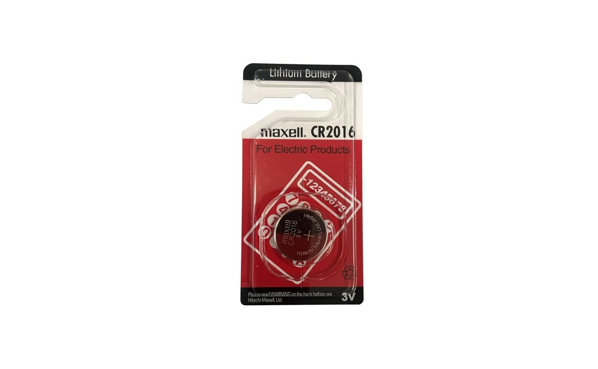 باتری سکه ای 3 ولت CR2016 مارک Maxell