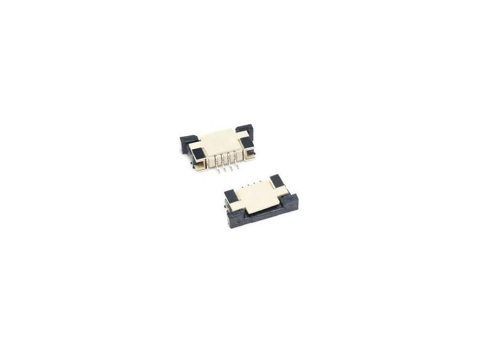 کانکتور FPC 0.5MM 4 Pin TOP