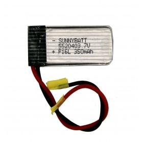 باتری لیتیوم پلیمر 3.7v ظرفیت 350mAh مرغوب مارک SUNNYBATT