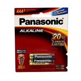 باتری نیم قلمی آلکالاین دو تایی مارک Panasonic