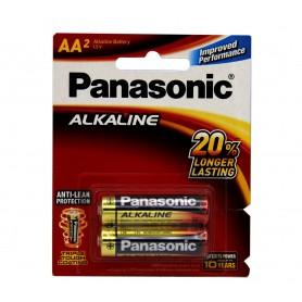 باتری قلمی آلکالاین دو تایی مارک Panasonic