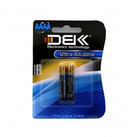 باتری سایز AAAA اولترا آلکالاین دو تایی مارک DBK