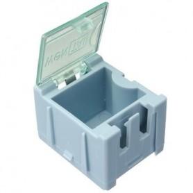 جعبه قطعات 20x25x30 SMD آبی