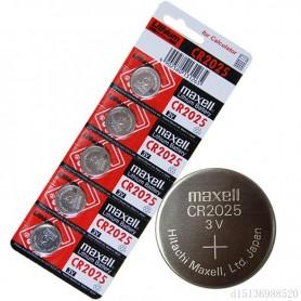 باتری سکه ای 3 ولت CR2025 ورق 5 تایی مارک Maxell