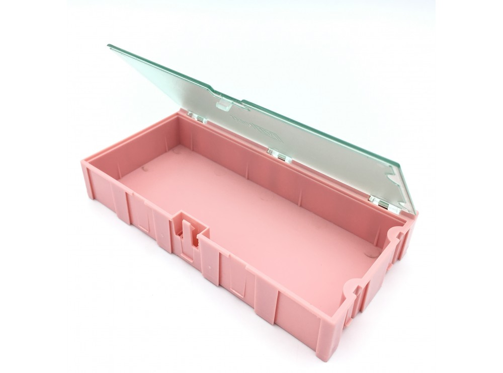 جعبه قطعات 125x63x21 SMD صورتی