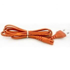 کابل برق دو چاک(ضبطی) سفید 1.8 متر