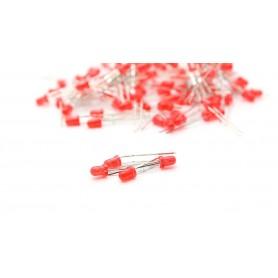 LED قرمز 3mm مات