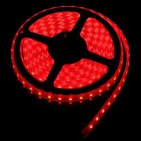 LED نواری قرمز درشت 5050 60Pcs رول 5متری