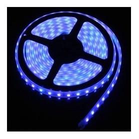 LED نواری آبی درشت 5050 60Pcs رول 5متری