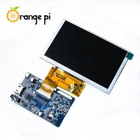 ماژول نمایشگر 5 اینچ مارک Orange Pi دارای ورودی HDMI