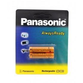 باتری نیم قلمی قابل شارژ 830mAh دو تایی مارک Panasonic