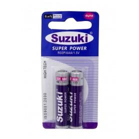 باتری نیم قلمی ارزان دو تایی مارک Suzuki