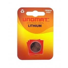 باتری سکه ای 3 ولت CR2016 مارک Unomat