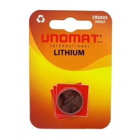 باتری سکه ای 3 ولت CR2032 مارک Unomat