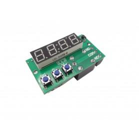 ماژول ساعت و تایمر 12 ولت قابل تنظیم همراه با رله و نمایشگر TA101