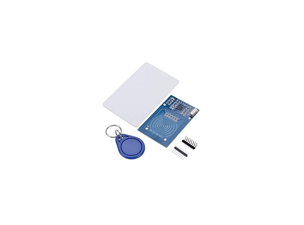 ماژول RFID با قابلیت خواندن و نوشتن RFID Reader/Writer RC522 Mifare 13.56Mhz