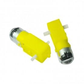موتور گیربکس پلاستیکی دو طرفه 150 RPM جریان پایین