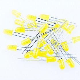 LED زرد مات 5mm بسته 1000تایی