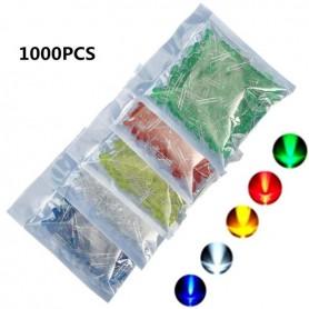 LED سبز مات 5mm بسته 1000 تایی